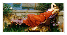 Póster Premium  Ariadne - John William Waterhouse