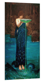 Quadro em PVC  Circe Invidiosa - John William Waterhouse