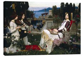 Quadro em tela  Saint Cecilia - John William Waterhouse