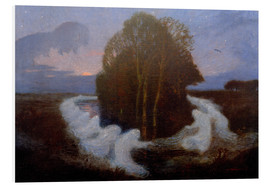 Quadro em PVC  Dance of the Elves - Otto Modersohn