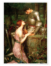 Póster Premium  Lamia - John William Waterhouse