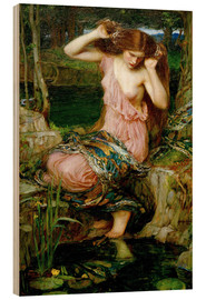 Quadro de madeira  Lamia - John William Waterhouse