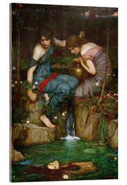 Quadro em acrílico  Nymphs Finding the Head of Orpheus - John William Waterhouse