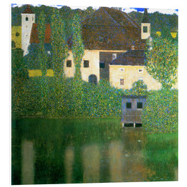 Quadro em PVC  Castle chamber on the Attersee I - Gustav Klimt