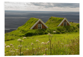 Quadro em PVC  Traditional Houses in the Skaftafell National Park, Iceland - Markus Ulrich