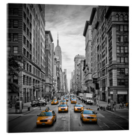 Quadro em acrílico  NEW YORK CITY 5th Avenue Traffic - Melanie Viola