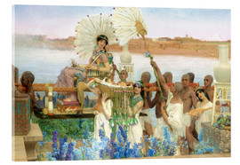 Quadro em acrílico  The Finding of Moses by Pharaoh's Daughter - Lawrence Alma-Tadema