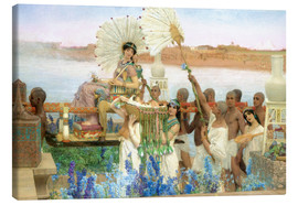 Quadro em tela  The Finding of Moses by Pharaoh's Daughter - Lawrence Alma-Tadema