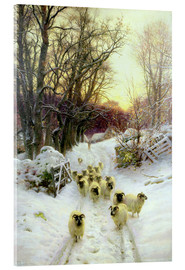 Quadro em acrílico  The Sun Had Closed the Winter's Day - Joseph Farquharson