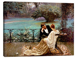 Quadro em tela  The Pride of Dijon - William John Hennessy