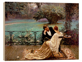 Quadro de madeira  The Pride of Dijon - William John Hennessy