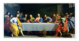 Póster Premium The Last Supper, called 'The Little Last Supper'