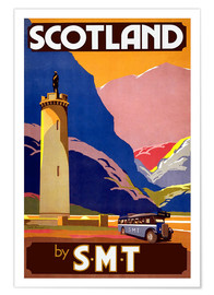 Póster Premium  Experience Scotland - Travel Collection