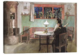 Quadro em tela  When the Children have Gone to Bed - Carl Larsson