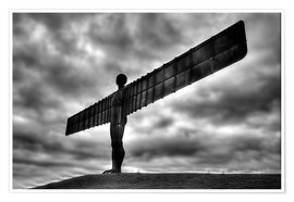 Póster Premium  Angel Of The North - Simon West