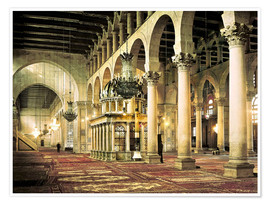 Póster Premium  The Umayyad Mosque in Damascus