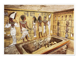 Póster Premium  Grave of Tutankhamun in the Valley of the Kings