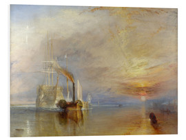 Quadro em PVC  The Fighting Téméraire - Joseph Mallord William Turner