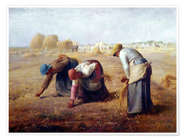 Póster Premium The Gleaners