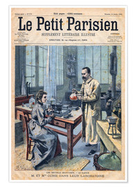 Póster Premium  Pierre and Marie Curie