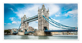 Póster Premium  Tower Bridge - euregiophoto