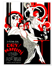 Póster Premium  dry Martini - Advertising Collection