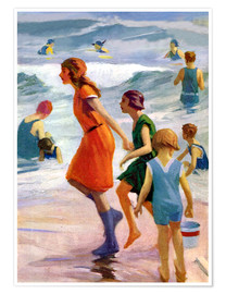 Póster Premium  Our day at the beach