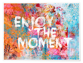 Póster Premium  Enjoy the moment - Andrea Haase