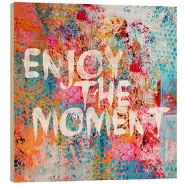 Quadro de madeira  Enjoy the moment II - Andrea Haase