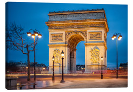 Quadro em tela  Arc de Triomphe in Paris - Jan Christopher Becke