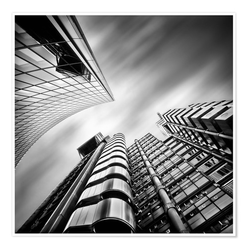 Póster Premium Lloyds London | 01 (black/white)