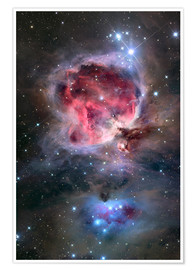 Póster Premium The Orion Nebula