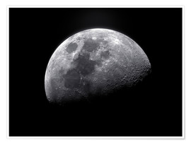 Póster Premium  Waxing gibbous moon - Roth Ritter