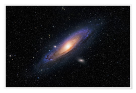 Póster Premium The Andromeda Galaxy