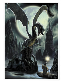 Póster Premium  Dragons rock - Dragon Chronicles