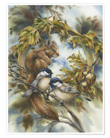 Póster Premium  Some of my best friends - Jody Bergsma