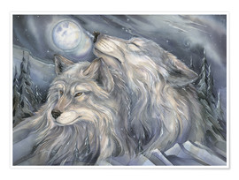 Póster Premium  Love is the beginning - Jody Bergsma