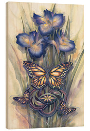 Quadro de madeira  A new day has come - Jody Bergsma