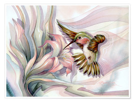 Póster Premium  Spread your wings - Jody Bergsma