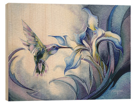 Quadro de madeira  Look for the magic - Jody Bergsma