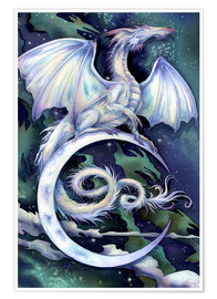 Póster Premium  Touch the moon - Jody Bergsma