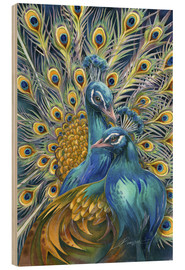 Quadro de madeira  You Are Unforgettable - Jody Bergsma