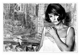 Póster Premium  TIME OF INDIFFERENCE, Claudia Cardinale