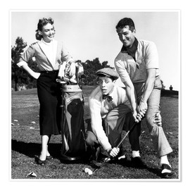 Póster Premium  THE CADDY, Donna Reed, Jerry Lewis, Dean Martin