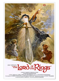 Póster Premium  O Senhor dos Anéis (The Lord of the Rings)