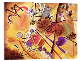 Quadro em PVC  Small dream in red - Wassily Kandinsky