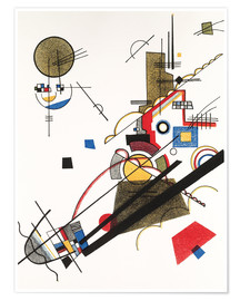 Póster Premium  Happy ascent - Wassily Kandinsky