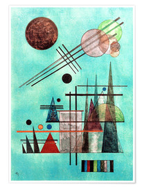 Póster Premium  Across and Up - Wassily Kandinsky