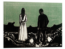 Quadro em PVC  Two People (The Lonely Ones) - Edvard Munch