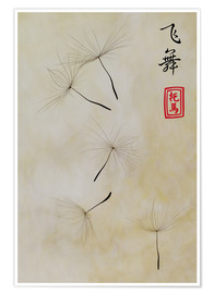 Póster Premium  Fei Wu - dancing in the wind - Thomas Herzog